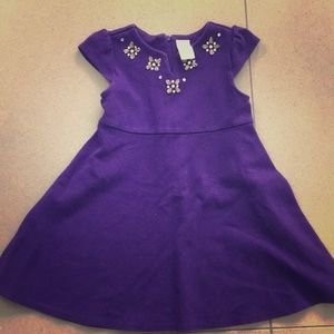 Gymboree Size 5 Purple Dress with Rhinestones!!